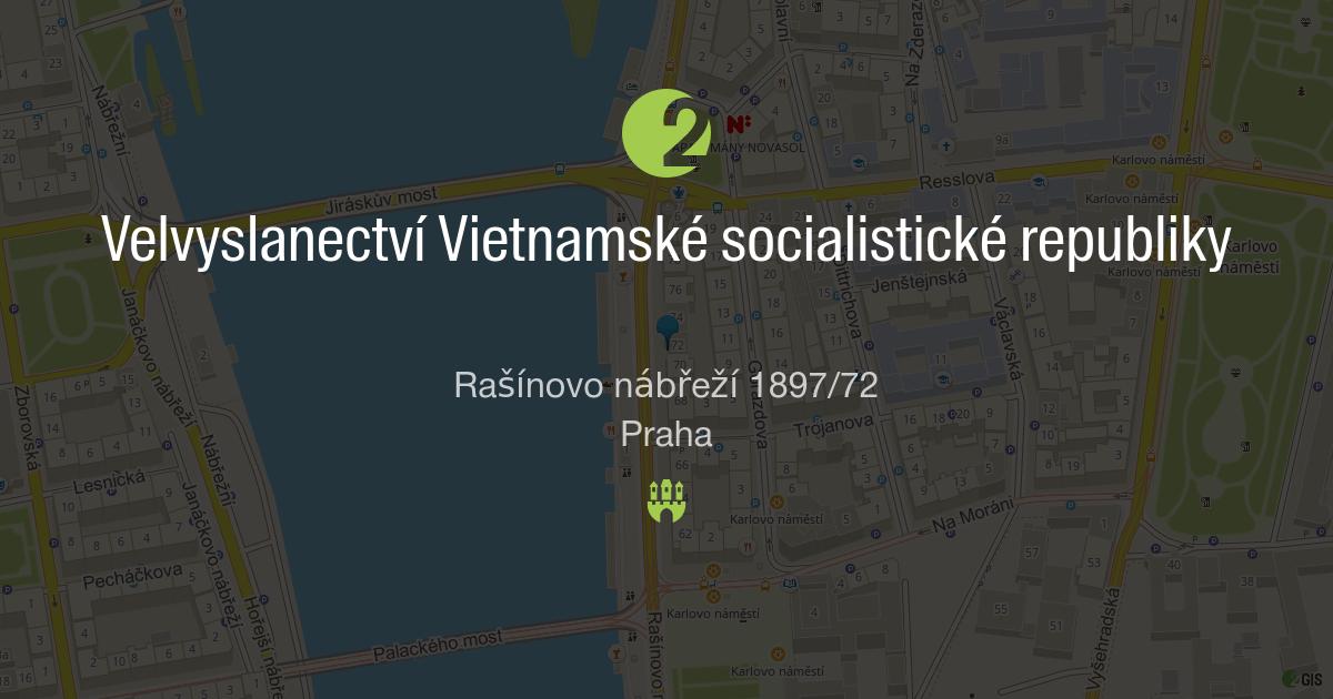 vietnamská ambasáda v Praze