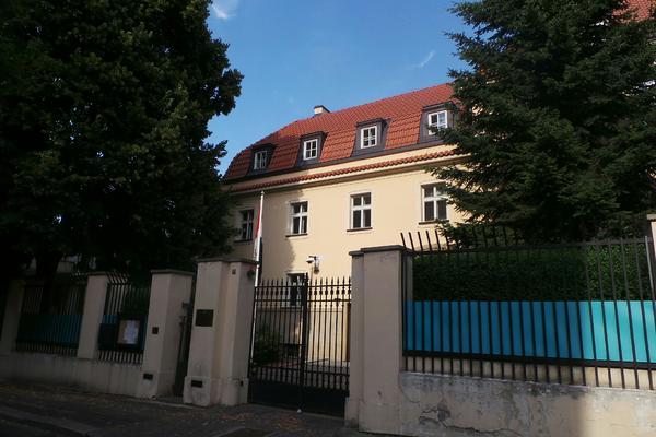 egyptská ambasáda v Praze
