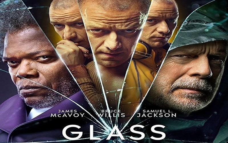Plakát k filmu Skleněný (Glass)