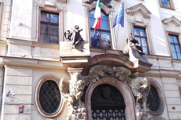 italská ambasáda v Praze