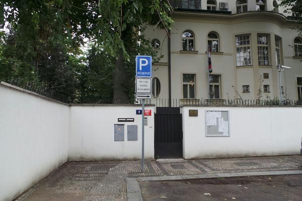íránská ambasáda v Praze
