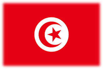Vlajka Tunisko