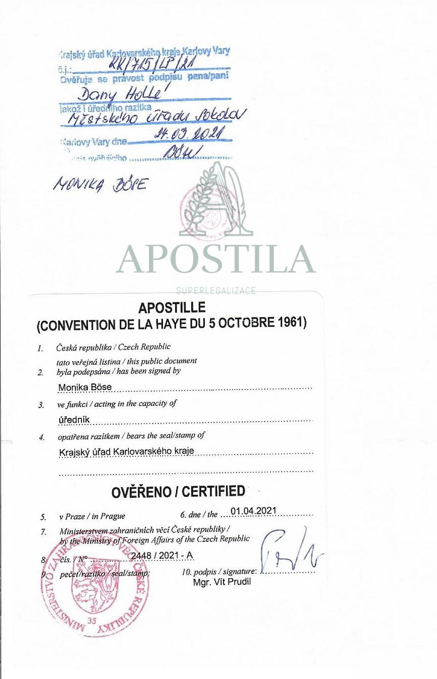 Rodny list Apostila
