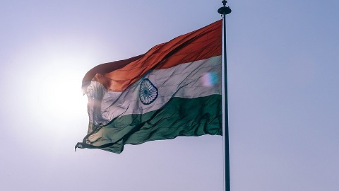 Indicka vlajka